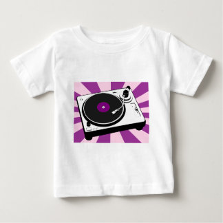 Custom Disco Turntable Retro Record Baby T-Shirt