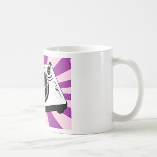 Custom Disco Turntable Retro Record Coffee Mug