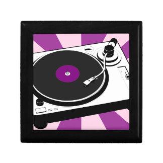 Custom Disco Turntable Retro Record Gift Box