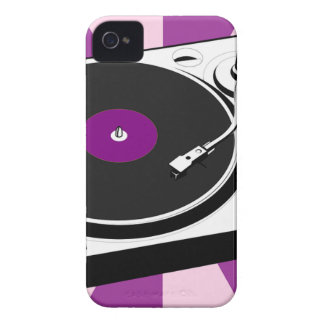 Custom Disco Turntable Retro Record iPhone 4 Case-Mate Cases