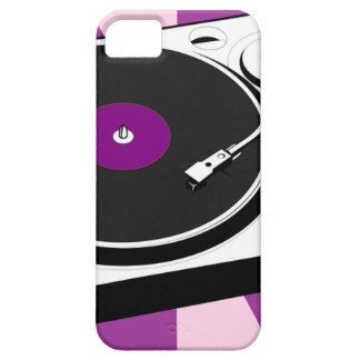 Custom Disco Turntable Retro Record iPhone 5 Case