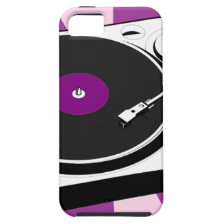 Custom Disco Turntable Retro Record Tough iPhone 5 Case