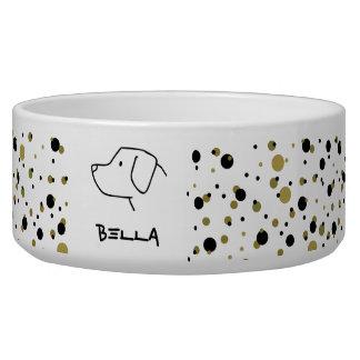Custom Dog Labrador Retriever Golden Black Dots