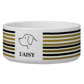 Custom Dog Labrador Retriever Golden Black Stripes