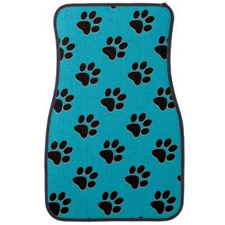 Custom Dog Paw Prints Floor Mats