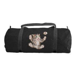 Custom Duffle Gym Bag, Black with Black straps Gym Bag