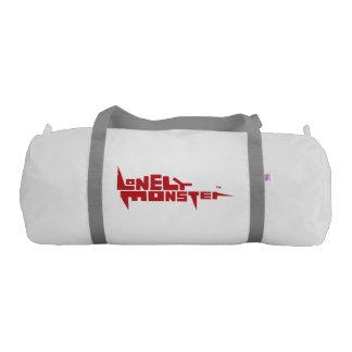 Custom Duffle Gym Bag - Burgundy Logo Gym Duffel Bag