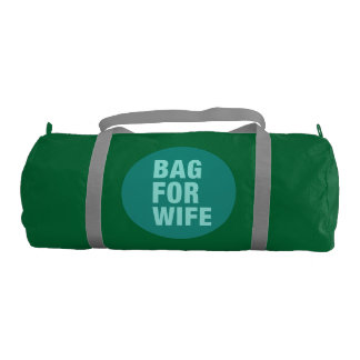 Custom Duffle Gym Bag For Wife