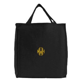 Custom Embroidered Monogrammed Bag