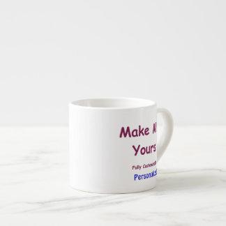 Custom Espresso Mug to Personalise 6oz