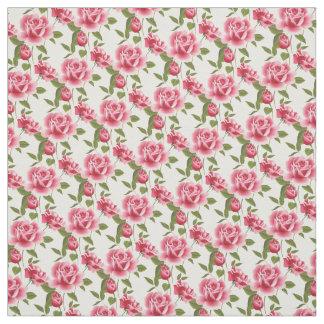 Custom Fabric-Pink Roses Fabric