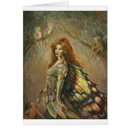 Custom Fairy Artwork Card