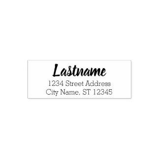 Custom Family Name and Return Address - Beloved Self-inking Stamp