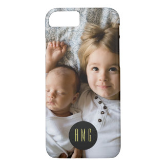 Custom Family Photo | Monogram | iPhone 8/7 Case