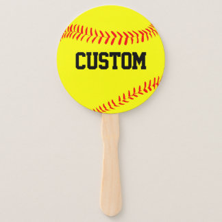 Custom Fastpitch Softball Fans for Fans!