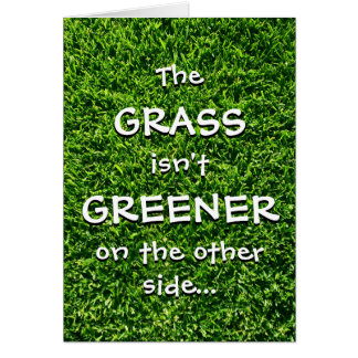 Custom Father's Day Cards | Grass Isn't Greener