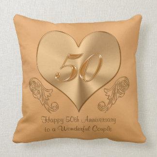 Custom Fiftieth Anniversary Gifts, Pillow