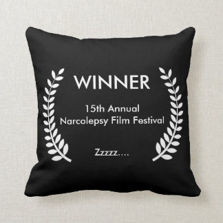 Custom Film Festival Laurels Pillow