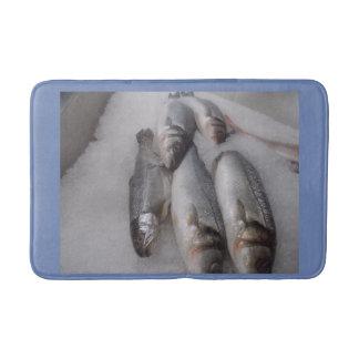 Custom Fish Medium Bath Mat