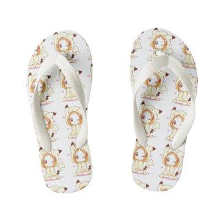Custom-Flip flop for Kids (anime) Sandals Thongs