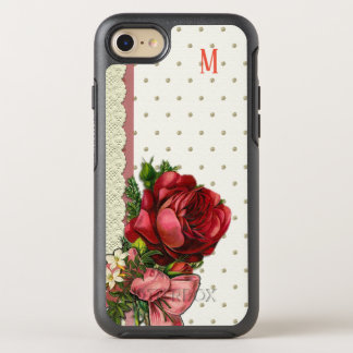 Custom floral art pattern texture design OtterBox symmetry iPhone 8/7 case