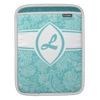 CUSTOM Floral Monogram iPad Sleeve