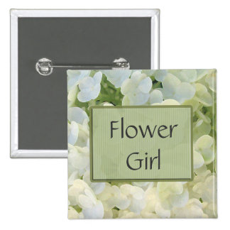 Custom Flower Girl Button - Customized