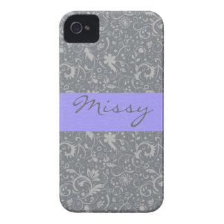 Custom Flower Pattern Blackberry Bold Case