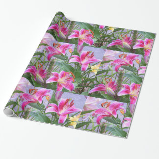 Custom Flower Pattern Gift or Craft Paper