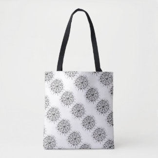 custom flower tote bag