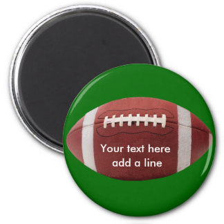 Custom Football Magnet - Customized