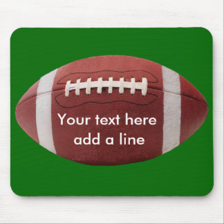 Custom Football Mousepad