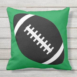 Custom Football Team Colour Outdoor Pillow Cushion