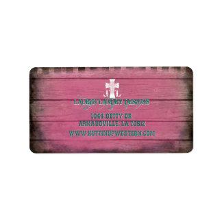 Custom for Lauren Landry Address Label