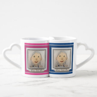 Custom Frame to Add Your Art Or Photo Couples Mug