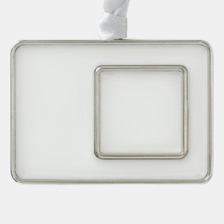 Custom Framed Ornament - Horizontal Silver Plated Framed Ornament