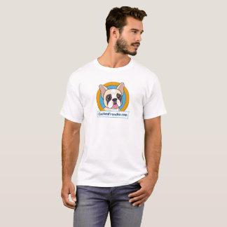 Custom Frenchie Logo Men's T-Shirt