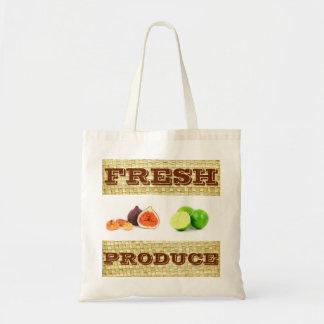 Custom Fresh Produce Fruit tote bag