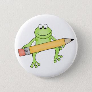 Custom Froggie  Button