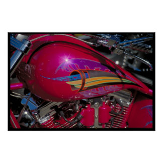 Custom fuel tank South Dakota Poster