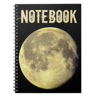 Custom Full Moon Notebook