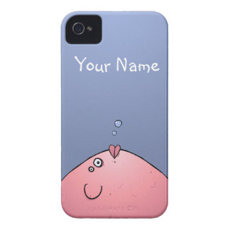 Custom Funny Fishy iPhone 4 4s Cover Gift