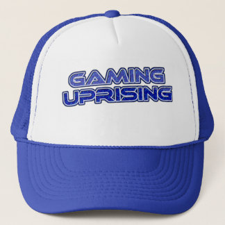 Custom GAMING UPRISING hat Blue Light Edition