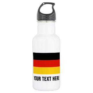 Custom German flag water bottles for Germany 532 Ml Water Bottle