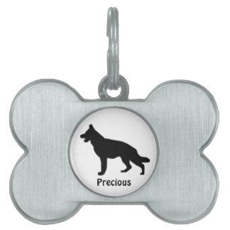Custom German Shepherd Dog Tag