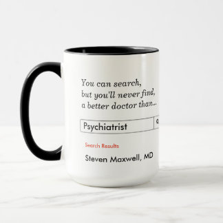 Custom Gift for Psychiatrist Mug