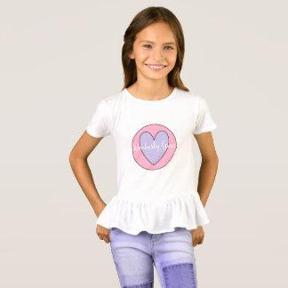 Custom Girl's Ruffle Shirt