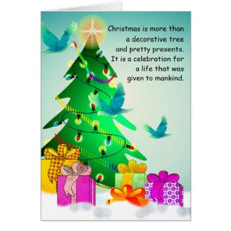 Custom God Loves A Cheerful Giver Card