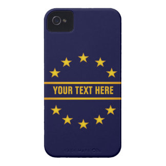 CUSTOM GOLDEN STARS Blackberry Bold case