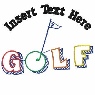 Custom Golf Embroidered Shirt